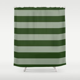 Solid Green Shower Curtains