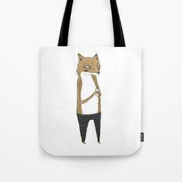 Fox and milk. Tote Bag