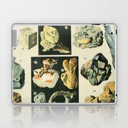 Vintage Minerals Chart Laptop & iPad Skin