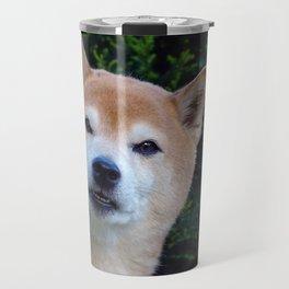 Cute Shiba Dog Travel Mug