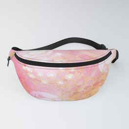 Circles Sunset Fanny Pack