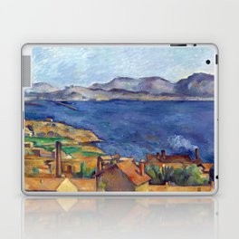 1885 - Paul Cezanne - The Bay of Marseilles, Seen from L'Estaque Laptop & iPad Skin