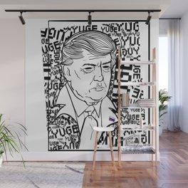 YUGE Wall Mural