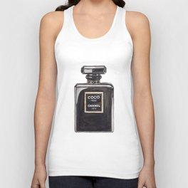 Classic Black Parfum Unisex Tank Top