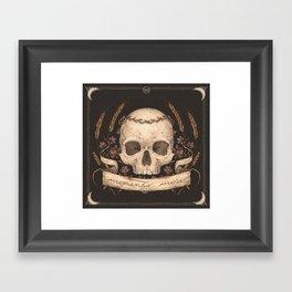 Memento Mori Framed Art Print