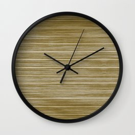 Antique Driftwood Whitewash Deck Beach Hut Cladding Wall Clock