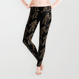 Bigfoot in the Forest Leggings