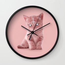LUCIPURR Wall Clock