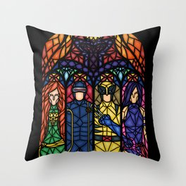 X-alted Throw Pillow