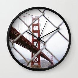 Golden Gate // Wall Clock