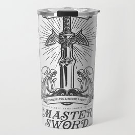 Legend of Zelda Vintage Master Sword Advertisement Travel Mug