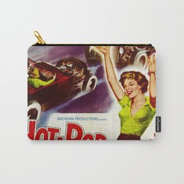 Hot Rod Girl Carry-All Pouch