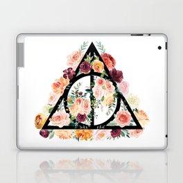 Watercolor Deathly Hallows Laptop & iPad Skin