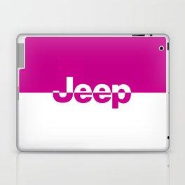 Jeep 'LOGO' HOTPINK Laptop & iPad Skin