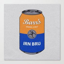 Barr's Irn Bru Canvas Print