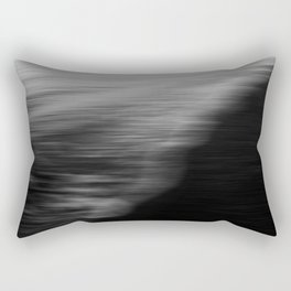 Flood. Abstract seascape. Rectangular Pillow