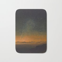 Smyth - The Great Comet of 1843 Sunset Magical Stars Bath Mat