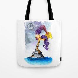 Yogi Mermaid Tote Bag