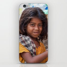 Girl with Chilies iPhone Skin