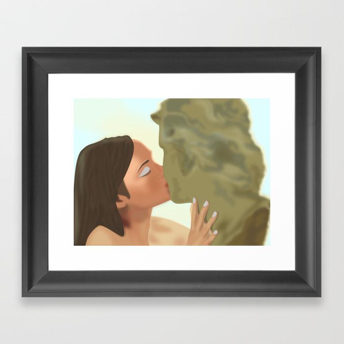 Stendhal Syndrome Framed Art Print by Signorurra FRM8582562