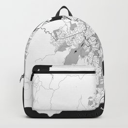 Wellington Map Gray Backpack