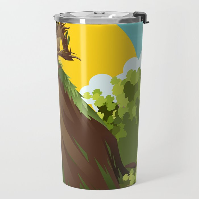 earth nature creature elemental Travel Mug