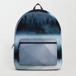 Mountainscape Under The Moonlight Backpack