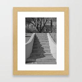 Above the Stairs Framed Art Print