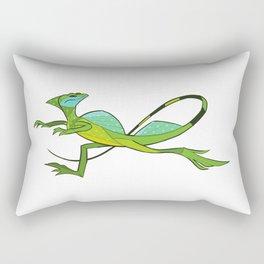 Basilisk Rectangular Pillow