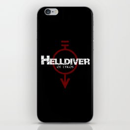 Helldiver of Lykos iPhone Skin