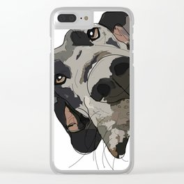Great Dane Clear iPhone Case