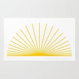 Ray of sunshine Rug