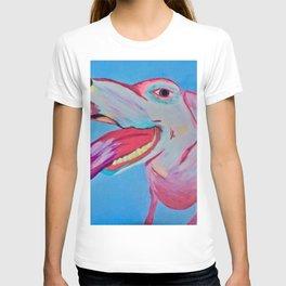 pop art puppy love T-shirt