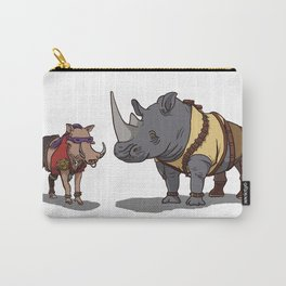 Warthog and Rhino Animal Cosplay Carry-All Pouch