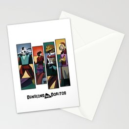 """These Boots Were Made For Swappin'"" - Dungeons & Doritos Stationery Cards"