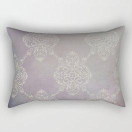 Vintage Damask - Violet Rectangular Pillow