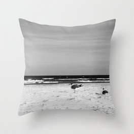 the BiRDS and the BEEcheS Throw Pillow