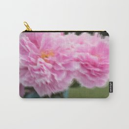Peony Drama ~ Ocean Ripple Carry-All Pouch