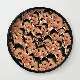 Crying Kim Kardashian Wall Clock