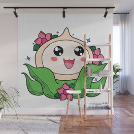 Happy Little Tentacles! Wall Mural