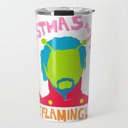 Christmas on Mars - The Flaming Lips Travel Mug