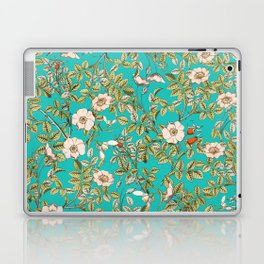 Teal Botanical #society6 #decor #buyart Laptop & iPad Skin