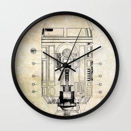 R2-D2  Patent Wall Clock