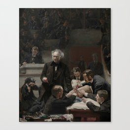 Thomas Eakins The Gross Clinic Canvas Print