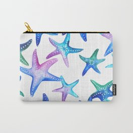 Watercolor Starfish Carry-All Pouch