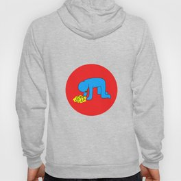 Keith Haring style - Too much alcohol - Funny Illustration Pop Art Hoody