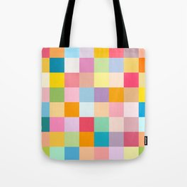 Candy colors Tote Bag