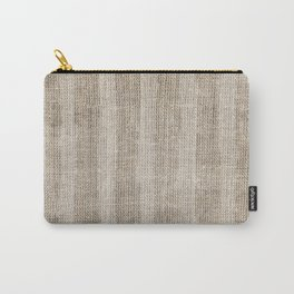 Striped burlap (Hessian series 3 of 3) Carry-All Pouch