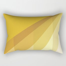 New Heights - Gold Rectangular Pillow