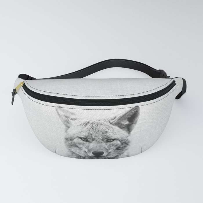 Coyote - Black & White Fanny Pack